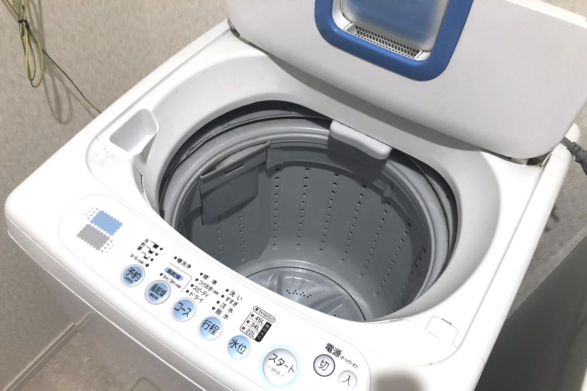 遺品整理時に洗濯機を処分する方法