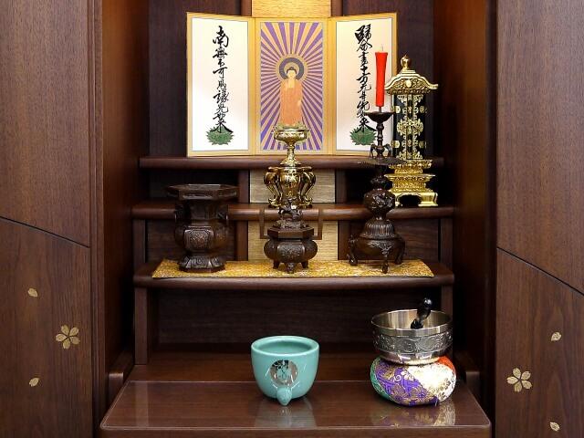 現代の住宅に合う仏壇