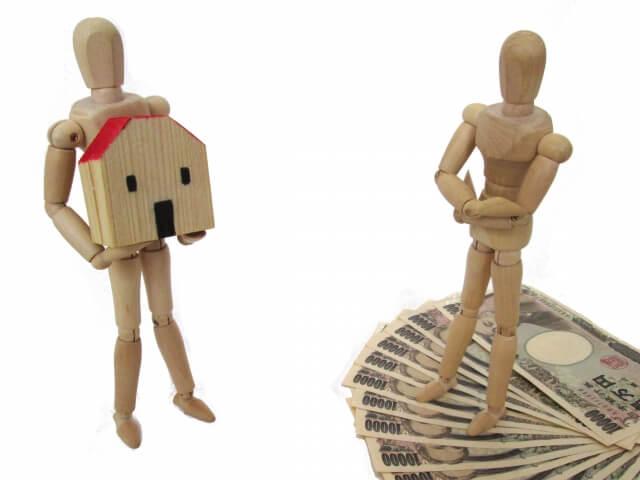家を持つ人形